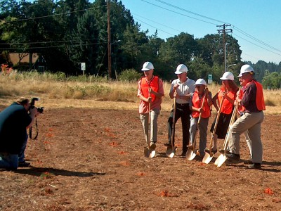 Silverton Senior Center groundbreaking