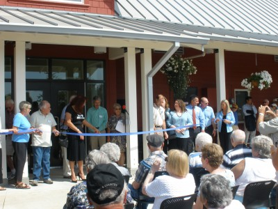 Silverton Senior Center ribbon cutting