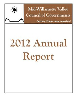 image of 2012 COG Annual Report cover