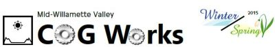 image of Winter/Spring 2015 COG Works masthead