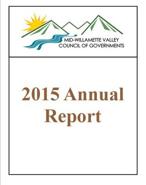 image of 2015 COG Annual Report cover