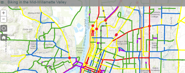 Image for the link to the online biking map