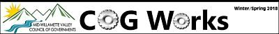 Masthead for Winter/Spring edition of the MWVCOG newsletter