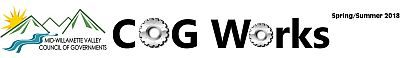 Masthead for Spring/Summer edition of the MWVCOG newsletter