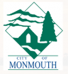 Logo for the City of Monmouth, Oregon